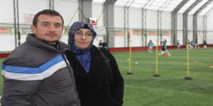(Özel Haber) Eşinden antrenör kocaya büyük destek