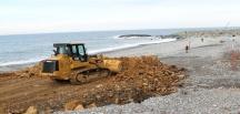 Rize-Artvin Havalimanı inşaatı için şantiye alanı çalışmaları başladı