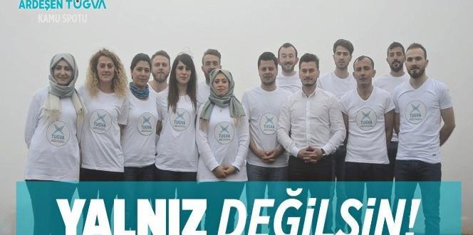 Rizeli gençler kanser hastaları için kamu spotu hazırladı