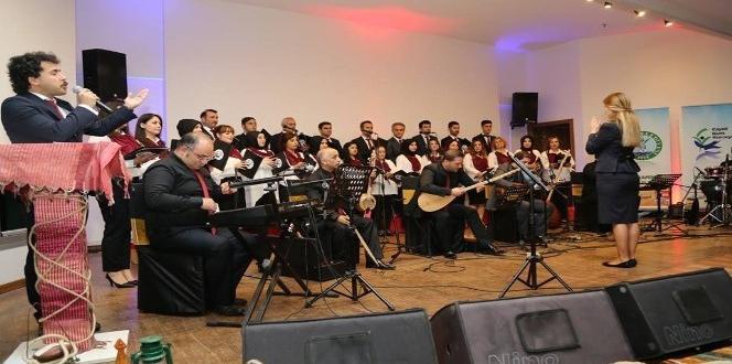 Çayeli Belediyesi Türk Halk Müziği Korosu vatandaşlar ile bir araya geldi