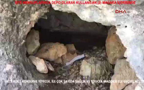 Asker PKK'nın inine girdi! 3 katlı yer şaşkına çevirdi