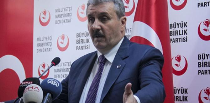 Destici'den 'Seçim ittifakı' açıklaması