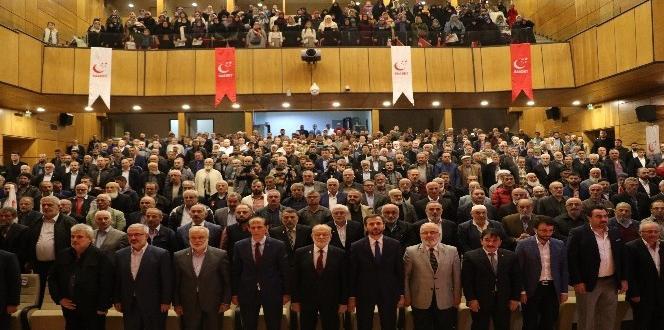 Saadet Partisi Genel Başkanı Karamollaoğlu, Rize İl Kongresinde konuştu