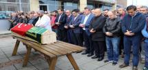 Şile'de batan gemi mürettebatından Rizeli Mahir Erdoğan memleketinde son yolculuğuna uğurlandı