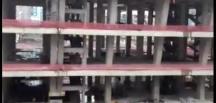 Rize'de AVM inşaatından düşen işçi öldü