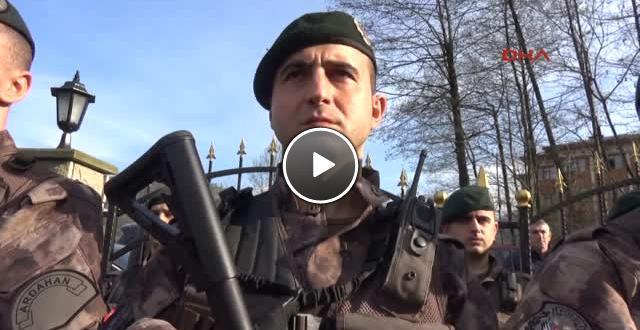 Rize de Özel Harekat Polisleri, Afrin e Uğurlandı