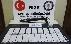 """Rize'deki """"Torbacı"""" Operasyonunda 1 Kişi Tutuklandı"""