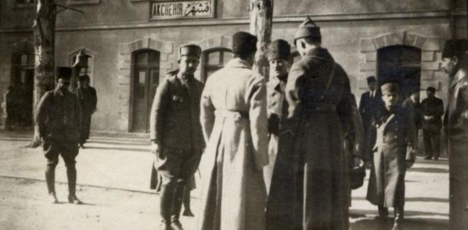Atatürk ve Büyük Taaruz'un eksik aşina fotoğrafları