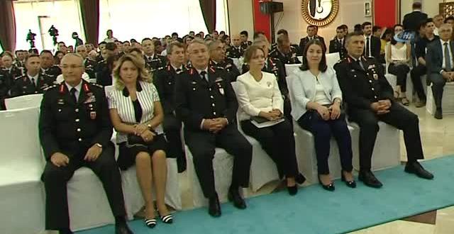 Bakan Asilzade, Jandarma Genel Komutanlığı ve Sahil Emniyet Komutanlığı Rütbe Terfi Töreni'ne Katıldı