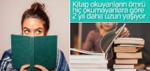 Enfes araştırma sonucu: Kitap okuyanlar daha uzun yaşıyor