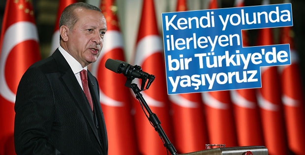 Erdoğan: Çeyrek asır önce Türkiye'yi idareli krize sokuyorlardı
