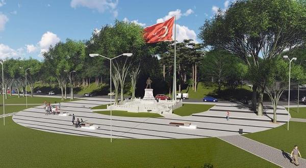 İstanbul'daki Atatürk heykeli restore edilecek