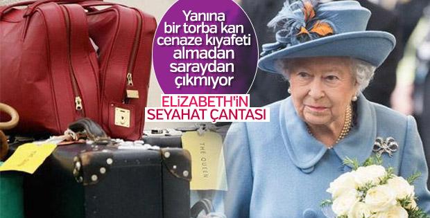 Kraliçe Elizabeth 'in gezi bavulunda olan tuhaflıklar