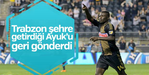 Trabzonspor Eric Ayuk'u geri yolladı