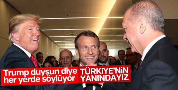 Macron Türkiye ile stratejik ortaklıktan yandan