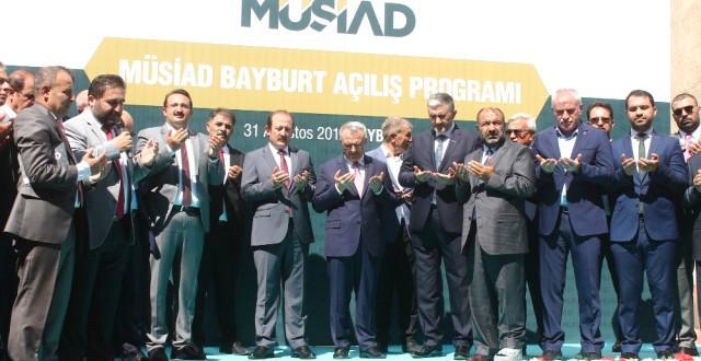 Naci Ağbal, Müsiad Bayburt Şubesi'nin Açılışına Katıldı