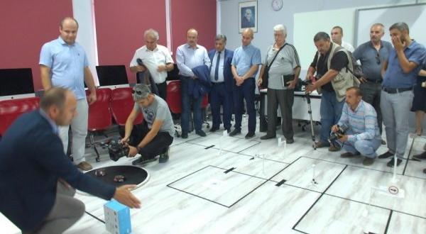 Öğrencilere robot vasıta eğitimi