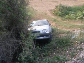 Otomobil takla attı: 1 zarar görmüş