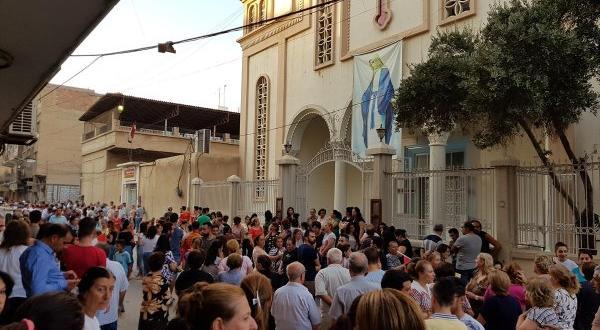 Suriyeli Hristiyanlar YPG'ye tepkili