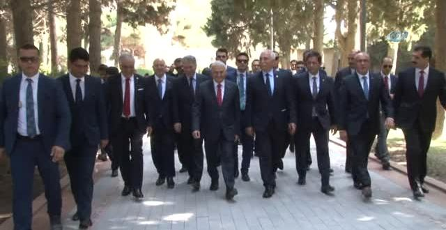 TBMM Başkanı Şimşek Azerbaycan ve Türk Şehitliklerini Ziyaret Etti- Şimşek, KKTC'den Sonra Birincil…