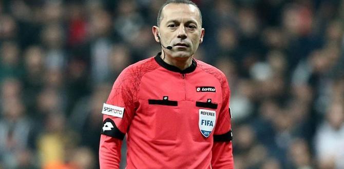 UEFA'dan Cüneyt Çakır 'a Devler Ligi'nde Görev!