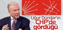 Uğur Dündar CHP'de karışıklık nedeniyle dertli