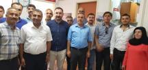 Ulaşım Sen'den MHP'ye Ziyaret