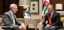 Ürdün Kralı 2. Abdullah, BM Mülteciler Yüksek Komiseri Grandi ile Görüştü