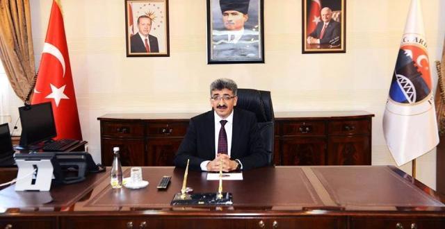 Vali Mehmet Belirlenmiş Bilmez'den 30 Ağustos Galibiyet Bayramı Mesajı