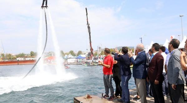 25 ülkeden binlerce sporcu su sporları festivalinde buluştu