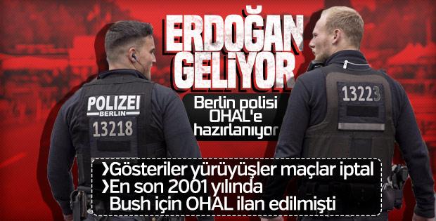 Almanya Başkan Erdoğan'ın ziyaretine hazırlanıyor