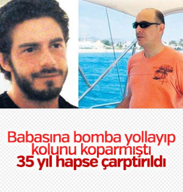 Babasına bomba yollayan gencin mahkeme kararı netleşti