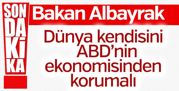 Bakan Albayrak: Türkiye enerjik kaldı dünya da kendisini korumalı