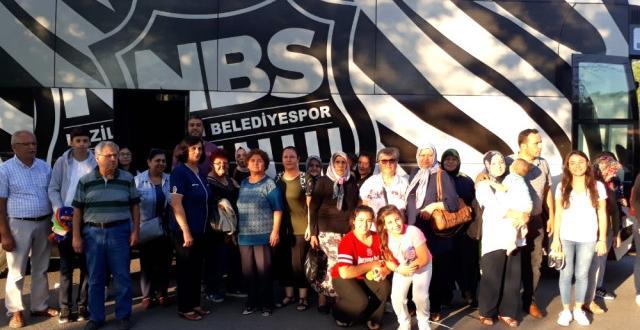 Başkan Alıcık'tan Ankara Gezilerine Ulaşım Desteği