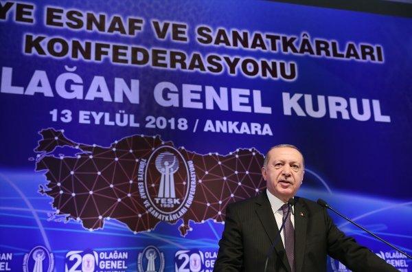 Başkan Erdoğan'dan faiz açıklaması