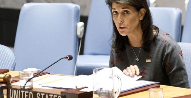 BM ABD Kalıcı Temsilcisi Haley'den Rusya'ya Sert İdlib Eleştirisi