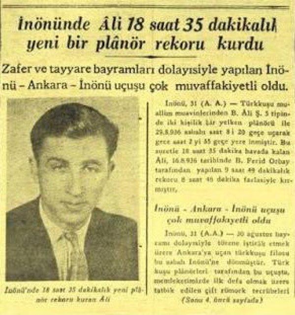 Bursa'nın göklerde bir yıldızı vardı: Emrullah Ali Yıldız