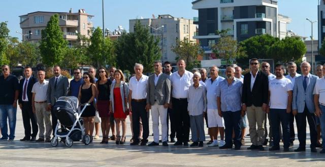 CHP Didim İlçe Teşkilatı 95. Kuruluş Yıl Dönümünü Kutladı
