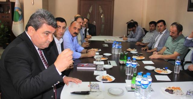 CHP Mersin Milletvekili Gökçel Hakkari'de Stk Temsilcileriyle Buluştu