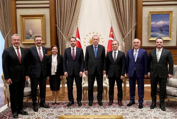 Erdoğan, Varlık Fonu Yönetim Kurulu Üyelerini Kabul Etti
