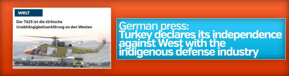 German press talks about Turkish-made T-625 helicopters