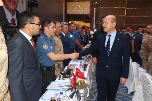 İçişleri Bakanı Soylu, Diyarbakır'da Bölge Güvenlik Toplantısına Katıldı