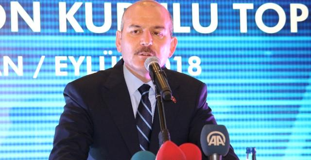 İçişleri Bakanı Süleyman Soylu; 'Zehir Ticareti PKK Eliyle Yürütülüyor'
