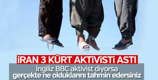 İran 3 Kürt'ü idam etti