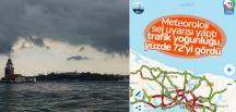 İstanbul'da 10 ilçe için sel uyarısı