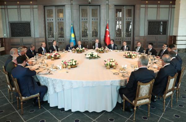 Kazakistan Cumhurbaşkanı Nursultan Nazarbayev Beştepe'de//ek Fotoğraf