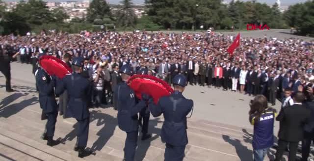 Kılıçdaroğlu, CHP'nin 95'inci Kuruluş Yıl Dönümü Nedeniyle Anıtkabir'i Ziyaret Etti-2