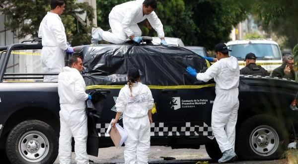 Meksika'da polis ekiplerine pusu: 4 ölü 6 yaralı