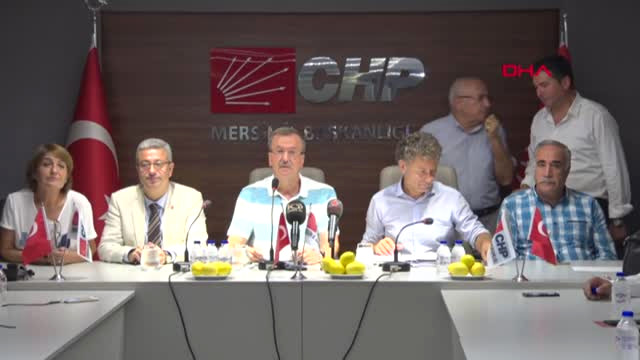 Mersin CHP'li Sarıbal Paranın Değerinin Düşmesi Denetimsiz Yönetimin Sonucu
