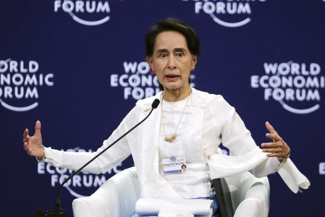 Myanmar Liderinden Soykırımı İspatlayan Gazetecilerin Tutuklanmasına Destek